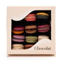 Cutie Macarons 12 bucati - by Chocolat