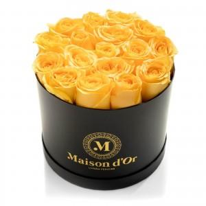 Black box 21 yellow roses
