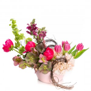 Floral arrangement with peonies Lille
