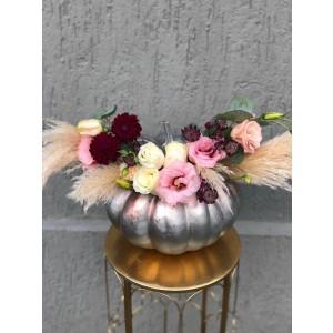 Rose Halloween Floral Arrangement