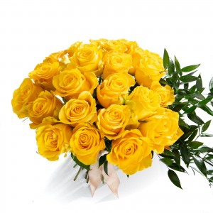 Bouquet 25 Yellow Roses