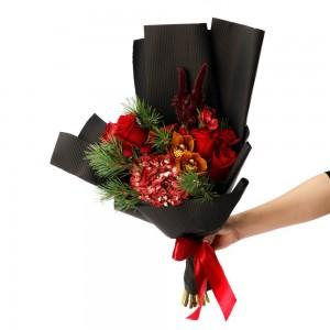 """Christmas Wish"" Flowers Bouquet"