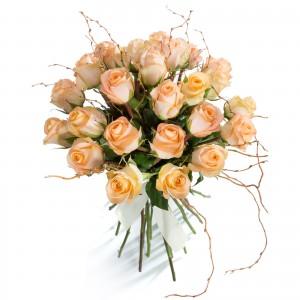 Bouquet 25 Orange Roses