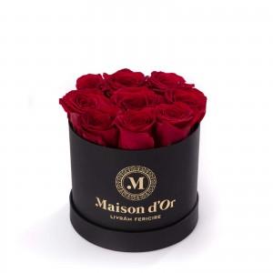 Black box 9 red roses